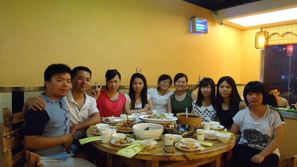 2013年第三季谢师宴